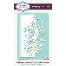 Paper Cuts Edger Craft Die - Charming Parrot