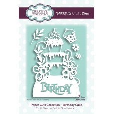 Paper Cuts Collection - Birthday Cake
