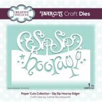 Paper Cuts - Sip Sip Hooray Edger Die
