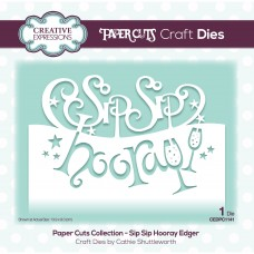 Paper Cuts - Sip Sip Hooray Edger Die