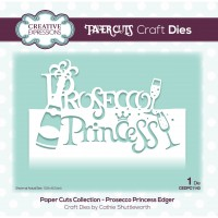 Paper Cuts - Prosecco Princess Edger Die