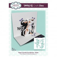 Paper Cuts Pop-up Collection - Woof