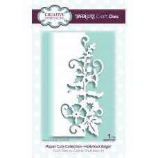 Paper Cuts Collection - Hollyhock Edger
