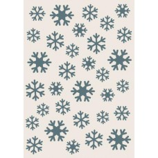 Sentimentally Yours Stencil - Snowflakes