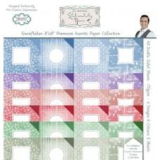 Snowflakes Premium Inserts 8 x 8 Paper Pad