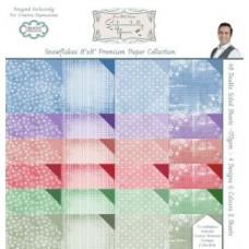 Snowflakes Premium Paper Pad Bundle