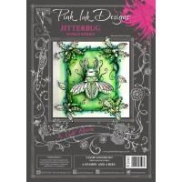 Pink Ink Designs - A Cut Above - Jitterbug Stamp & Die Set