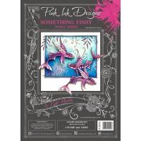 Pink Ink Designs - A Cut Above - Something Fishy Stamp & Die Set