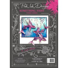 Pink Ink Designs - A Cut Above - Something Fishy Stamp & Die Set - DISPATCHING TUESDAY 28th JANUARY