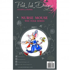 Pink Ink Designs - Nurse Mouse - A7 Clear Stamp