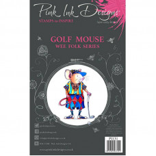 Pink Ink Designs - Golf Mouse - A7 Clear Stamp