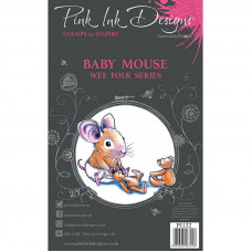 Pink Ink Designs - Baby Mouse - A7 Clear Stamp