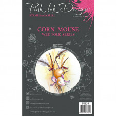 Pink Ink Designs - Corn Mouse - A7 Clear Stamp