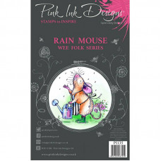 Pink Ink Designs - Rain Mouse - A7 Clear Stamp