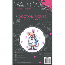 Pink Ink Designs - Doctor Mouse - A7 Clear Stamp
