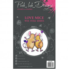Pink Ink Designs - Love Mice - A7 Clear Stamp