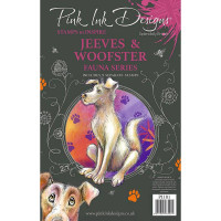 Pink Ink Designs A5 Clear Stamp - Jeeves and Woofster