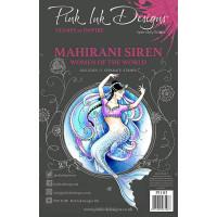 Pink Ink Designs A5 Clear Stamp Set - Mahirani