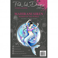 Pink Ink Designs A5 Clear Stamp Set - Mahirani