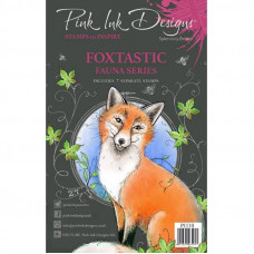 Pink Ink Designs - Foxtastic A5 Clear Stamp