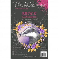 Pink Ink Designs - Brock A5 Clear Stamp