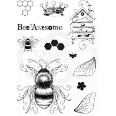 Pink Ink Designs A5 Clear Stamp Set - Bee-utiful