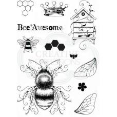 Pink Ink Designs A5 Clear Stamp Set - Bee-utiful