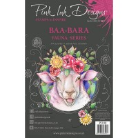 Pink Ink Designs A5 Clear Stamp Set - Baa-Bara - DISPATCHING WEDNESDAY 3rd MARCH