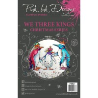Pink Ink Designs A5 Clear Stamp Set - We Three Kings