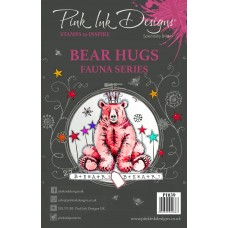 Pink Ink Designs A5 Clear Stamp Set - Bear Hugs