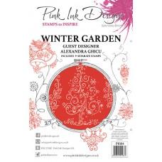 Pink Ink Designs A5 Clear Stamp Set - Winter Garden