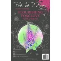 Pink Ink Designs Stamp - Flourishing Foxglove