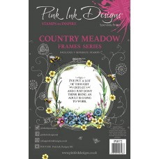 Pink Ink Designs A5 Clear Stamp - Country Meadow - DISPATCHING WEDNESDAY 12th AUGUST