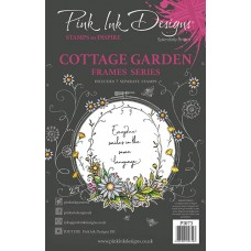 Pink Ink Designs A5 Clear Stamp - Cottage Garden