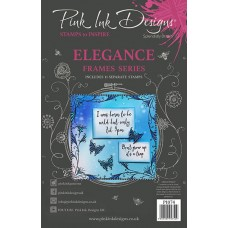 Pink Ink Designs A5 Clear Stamp Set - Elegance - DISPATCHING WEDNESDAY 12th AUGUST