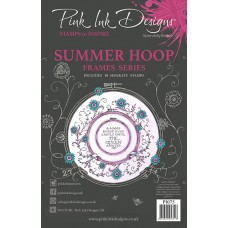 Pink Ink Designs A5 Clear Stamp Set - Summer Hoop - DISPATCHING WEDNESDAY 12th AUGUST