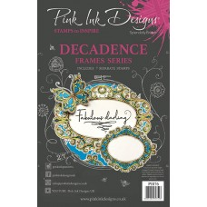 Pink Ink Designs A5 Clear Stamp Set - Decadance