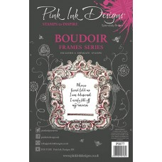Pink Ink Designs A5 Clear Stamp Set - Boudoir - DISPATCHING WEDNESDAY 13th AUGUST