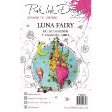 Pink Ink Designs A5 Clear Stamp Set - Luna Fairy