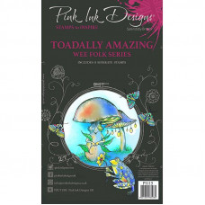 Pink Ink Designs - Toadally Amazing A6 Clear Stamp