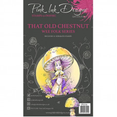 Pink Ink Designs - That Old Chestnut A6 Clear Stamp