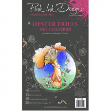 Pink Ink Designs - Oyster Frills A6 Clear Stamp