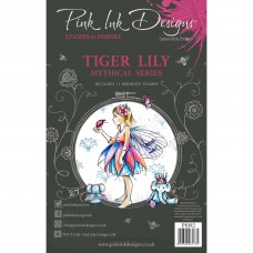 Pink Ink Designs A5 Clear Stamp Set - Tiger Lily