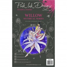 Pink Ink Designs A5 Clear Stamp Set - Willow