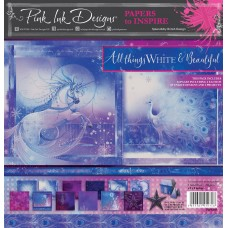 Pink Ink Designs - Paper to Inspire - All Things White & Beautiful 8x8