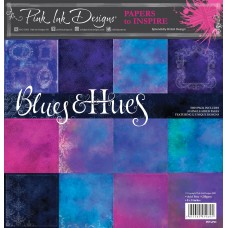 Pink Ink Designs - Paper to Inspire - Blues & Hues 8x8