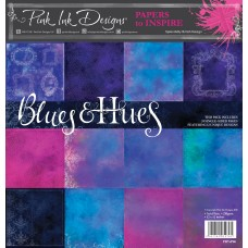 Pink Ink Designs - Paper to Inspire - Blues & Hues 12x12