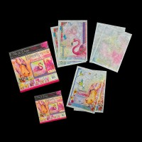 Pink Ink Paper Bundle