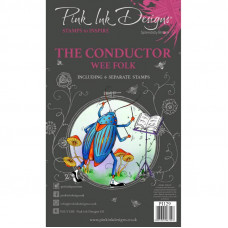 Pink Ink Designs - The Conductor A6 Clear Stamp Set