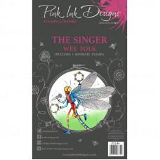 Pink Ink Designs - The Singer A6 Clear Stamp Set